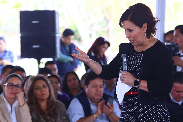 Ahora acusan a Rosario Robles de delincuencia organizada