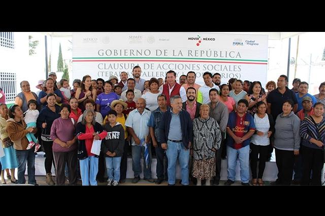 Sedatu y Ayuntamiento destinan 5 mdp en apoyos en San Ramón