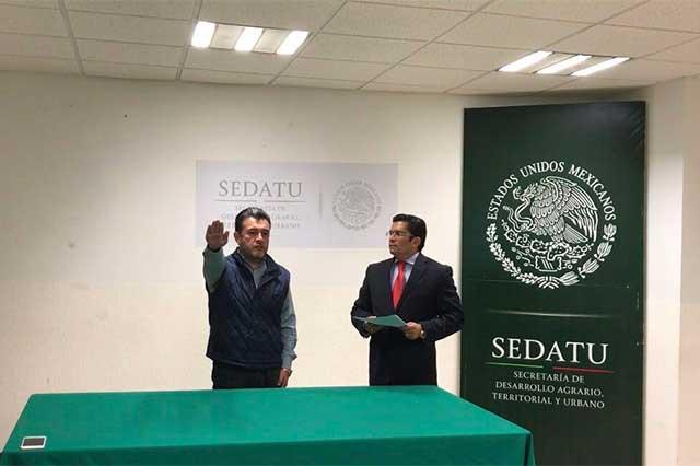 Cercano a Lastiri llega a Sedatu en Puebla y sale Román Lazcano