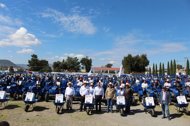 Histórica entrega de apoyos al agro hace gobierno de Gali