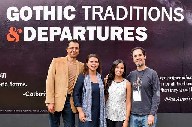 Gothic Traditions and Departures tuvo por sede la UDLAP