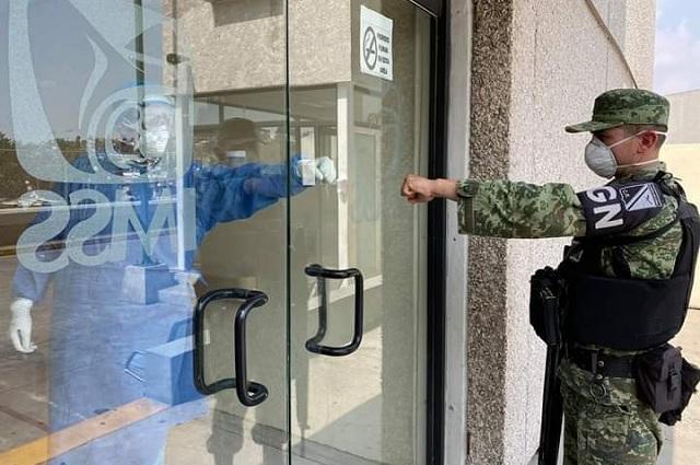 Ejército y Marina sufren estragos de la pandemia; van 5 muertos por Covid-19