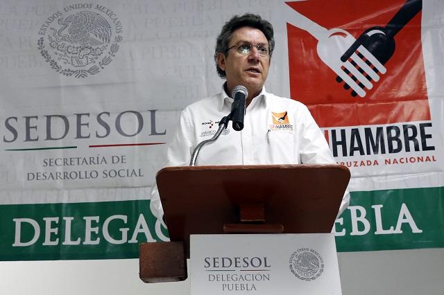 Sedesol adelantará pago de apoyos por veda electoral