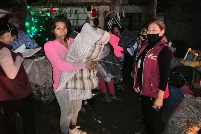 Atiende SEDIF a damnificados por lluvias en San Martín Alchichica