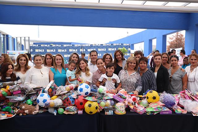 SEDIF organizó festejo con niñas y niños de Casas de Asistencia