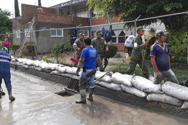 Segob declara emergencia por lluvias en 15 municipios poblanos