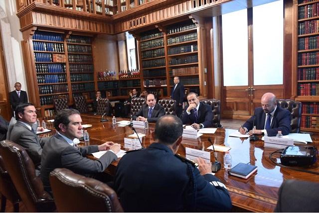 Segob presenta el protocolo para proteger a candidatos presidenciales