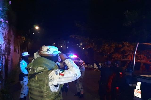 Refuerzan seguridad por reactivación económica en Teziutlán