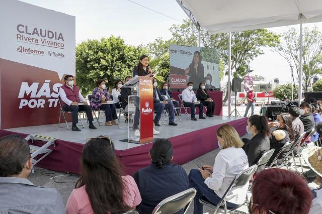 Demandan a Claudia Rivera más atención para las Juntas Auxiliares