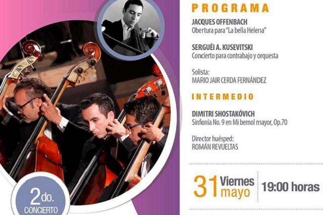 Este viernes 31 de mayo se presentará la Filarmónica 5 de mayo