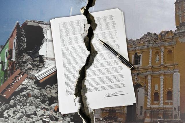 Cancela gobierno contratación de seguro contra desastres naturales