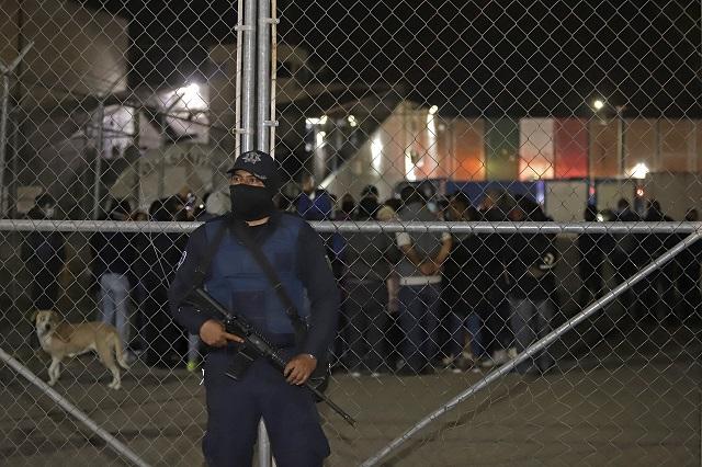 Reubican a reos por riña mortal en Cereso de Puebla