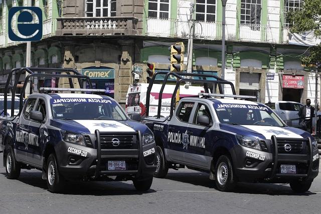Mando de policía en la capital sigue en manos del municipio