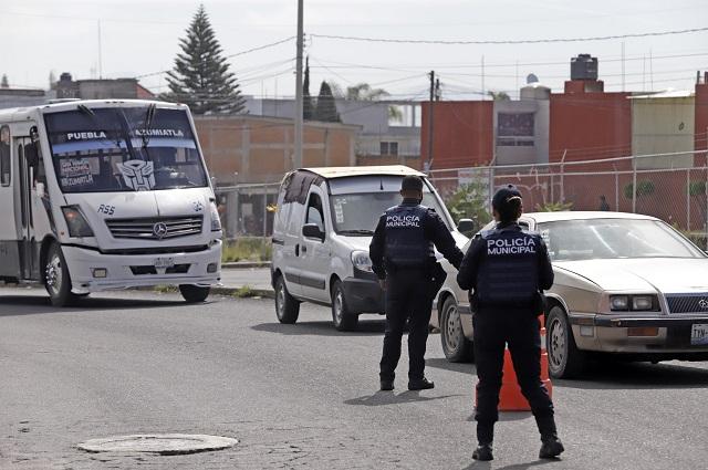 Bajan 60 % delitos en Puebla capital, asegura Claudia Rivera