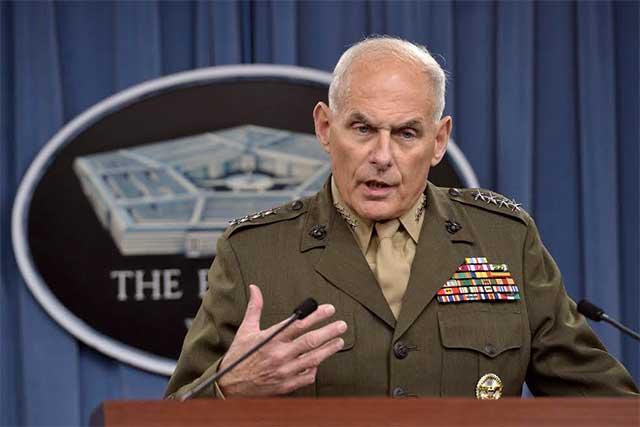 Trump designa a John Kelly como jefe de Seguridad Nacional