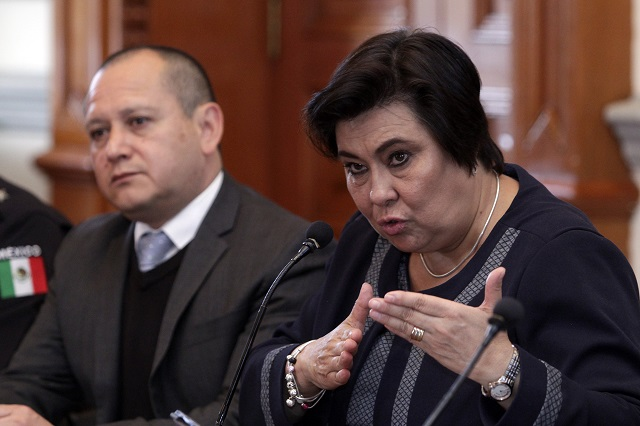 Bajan 21% los delitos en Puebla capital, asegura secretaria