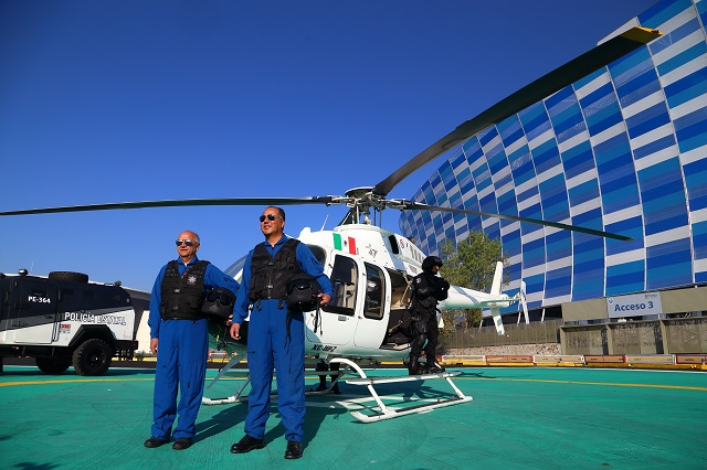 Pone Barbosa a la venta los tres helicópteros estatales