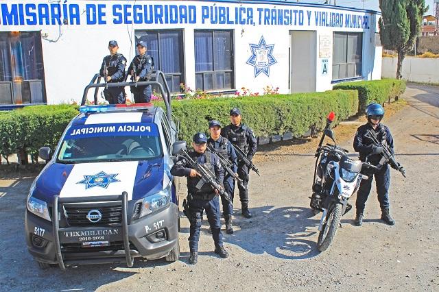 San Martín Texmelucan homologará salarios a operativos de seguridad pública