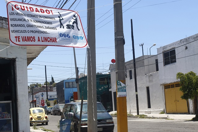 Vecinos dan escarmiento a un ladrón cada 2 días en Puebla