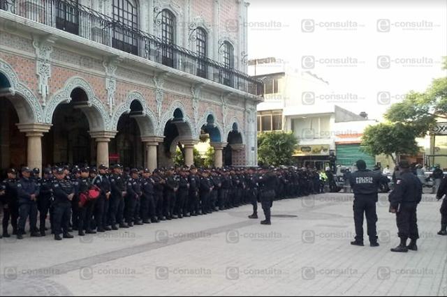 Ahora toma gobierno estatal el control de seguridad en Tehuacán