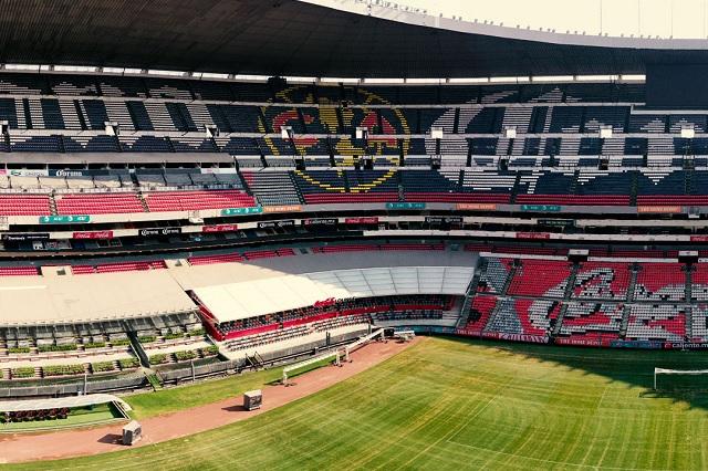 Video exhibe carentes medidas de seguridad en el Estadio Azteca