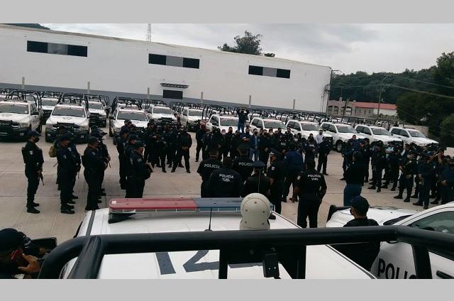 Carlos Peredo reconoce a Barbosa seguridad en Teziutlán