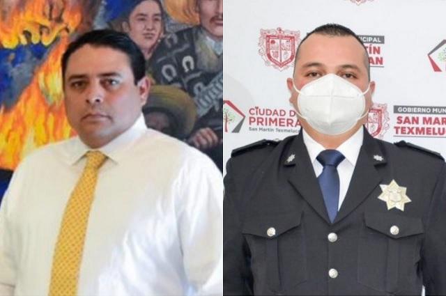 Se va Jorge Ramos de la secretaría de seguridad de Texmelucan