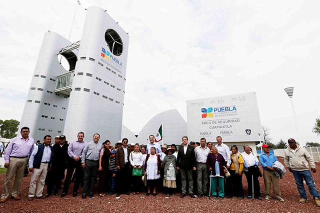 Inaugura RMV quinto Arco de Seguridad en la entidad