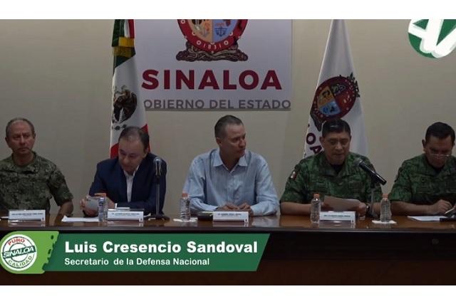 Hubo precipitación y deficiencia en captura de El Chapito: Sedena