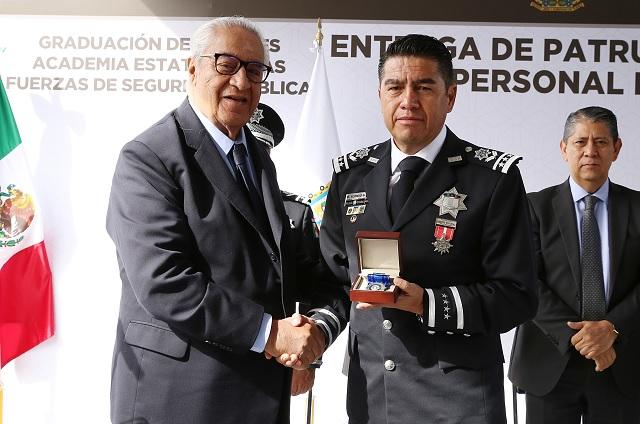 Secretaría de Seguridad Pública es una institución fortalecida: GPP