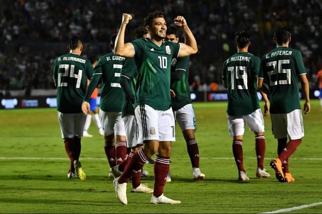 México no ganaba desde el juego ante Corea del Sur en el Mundial