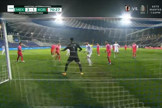 Tres minutos bastaron a México para derrotar a Corea del Sur 3-2