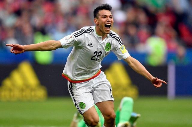 México vence a Rusia y está en semifinales de Copa Confederaciones
