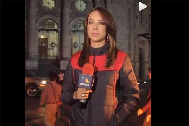 Selene Flores tiene 11 años en Tv Azteca de claroscuros
