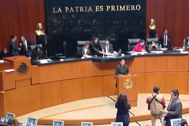 Senado debatirá en comisiones la creación de la Guardia Nacional