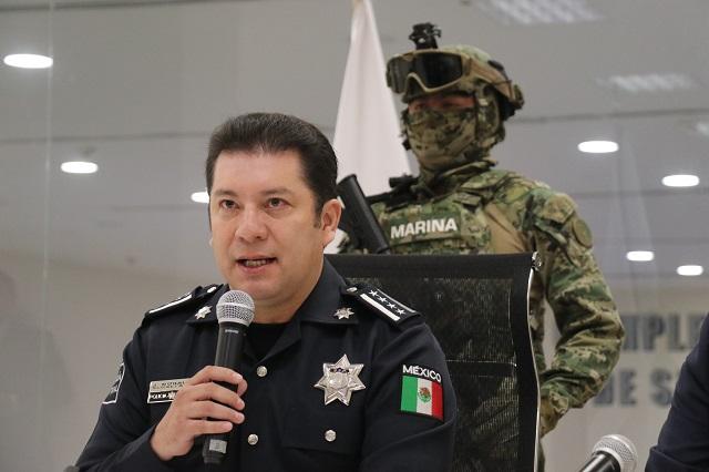 Vamos contra las bandas delictivas en Tehuacán, asevera titular SSP
