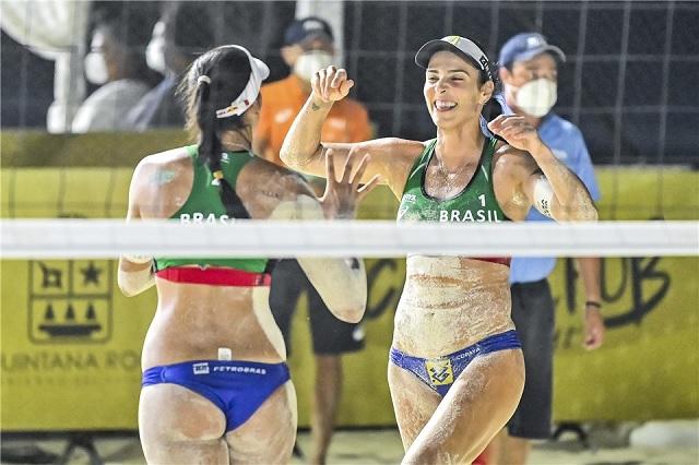 Tokio 2020: Circuito Mundial de Voleibol en Cancún arroja semifinalistas