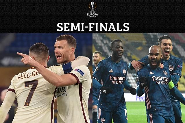 Manchester-Roma y Villarreal-Arsenal, las semifinales de Europa League