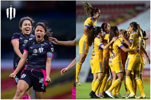 Monterrey y Tigres dan el primer golpe en Semifinales de Liga MX Femenil