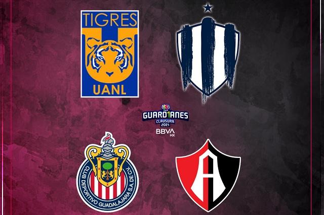 Liga MX Femenil tendrá doble clásico en semifinales: fechas y horarios