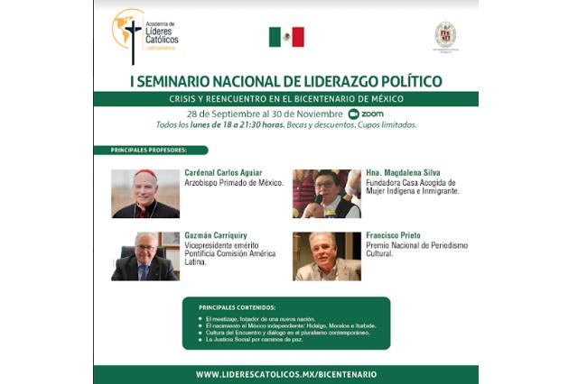 Figuras de Morena, PAN e Iglesia convocan al diálogo en México