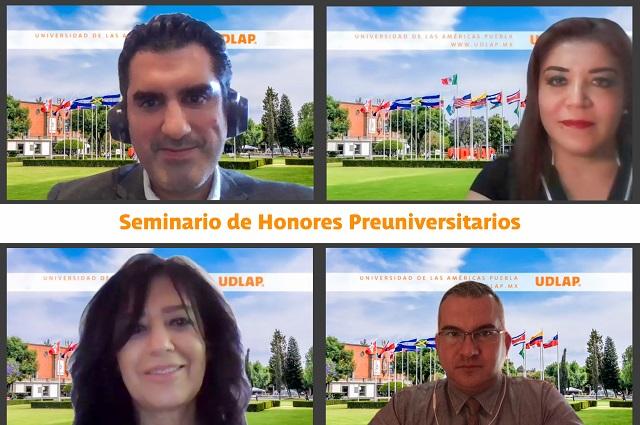 En UDLAP, Seminario de Honores Preuniversitario a preparatorianos
