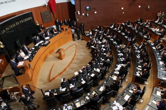 Proponen senadores Acuerdo Nacional para superar la crisis económica
