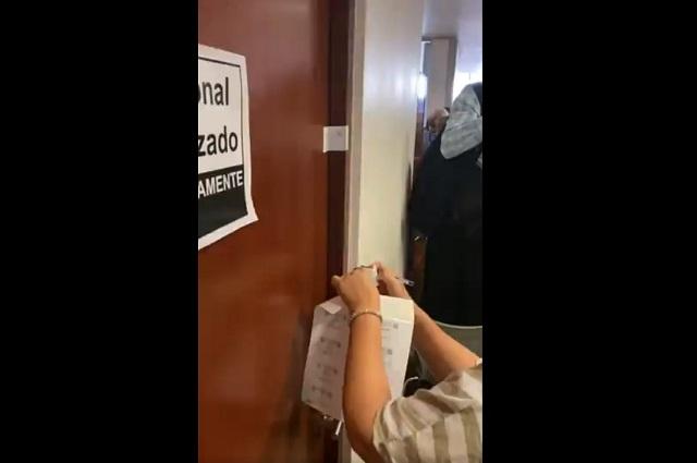 El PAN denuncia espionaje en despacho del Senado