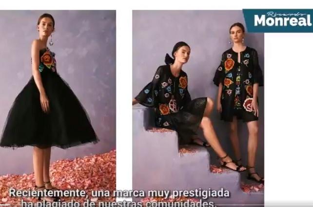 Senado demandará a Carolina Herrera por plagiar diseños indígenas