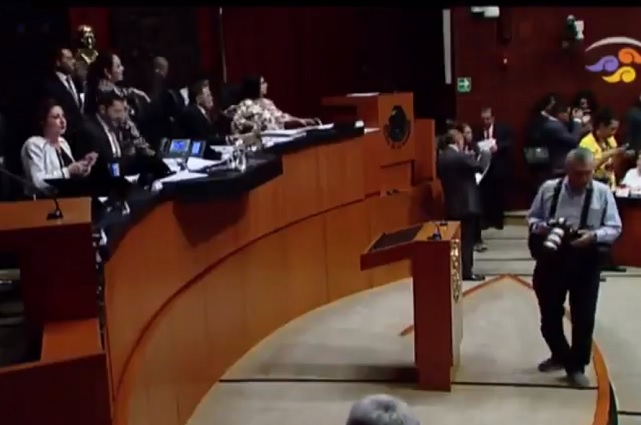 Senado analizará hoy la renuncia del ministro Eduardo Medina Mora