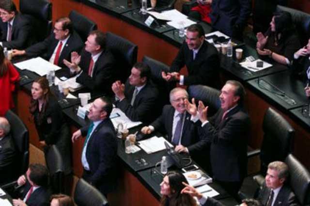 El Senado aprueba la Ley de Ingresos 2018