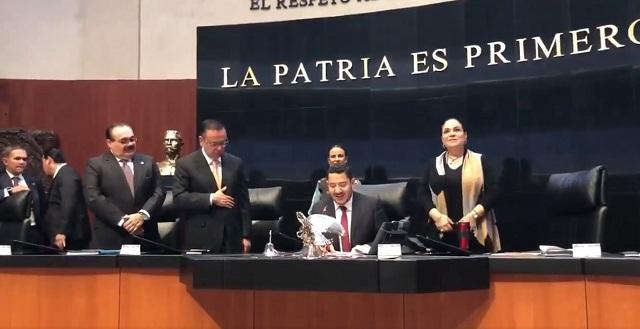 Senado concede licencia a 5 senadores que van al gobierno de AMLO