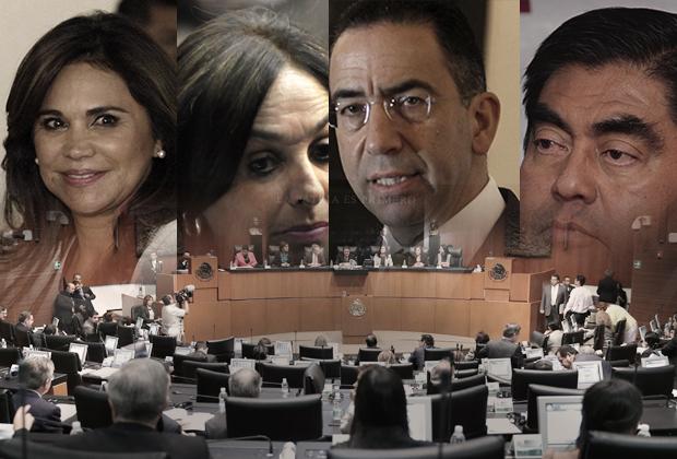 Senadores poblanos terminan periodo con 40% de efectividad