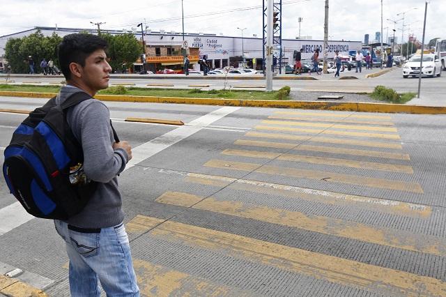 Peligran cruceros en Puebla capital pese a obras recientes